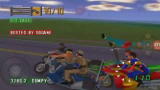 Road Rash 64 Police violence  Big Game race 1-2