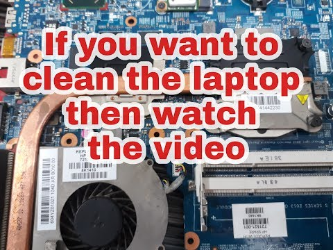 How to Laptop  clean hp