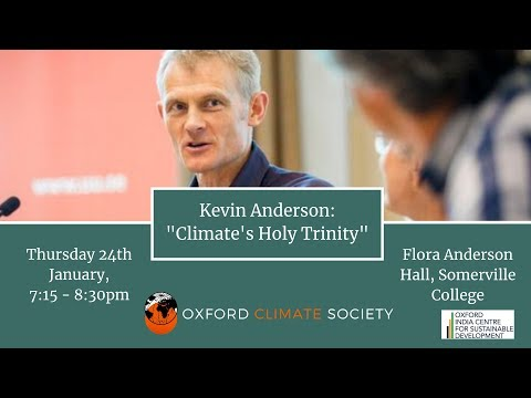 Kevin Anderson: Climate's Holy Trinity