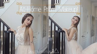 At Home Prom Makeup Tutorial | BEAUTY BY BUTLER
