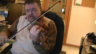 "Willard Losinger performing ""Tri Matolod"" on the Violin 2015-05-20"
