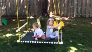 Diy Platform Swing In Action