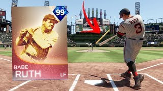 BABE RUTH IS UNSTOPPABLE!! MLB The Show Gameplay