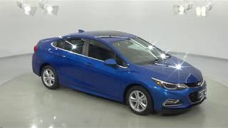 180617 - New 2018 Chevrolet Cruze Blue Test Drive