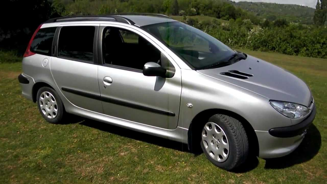 2005 peugeot 206 1 4 hdi sw youtube. Black Bedroom Furniture Sets. Home Design Ideas