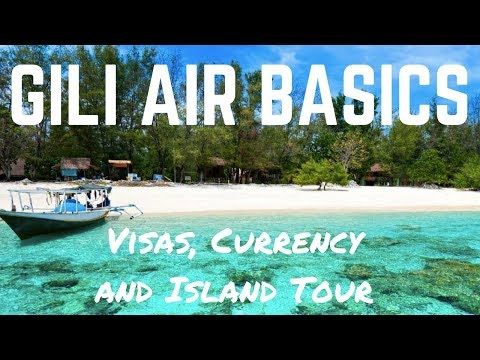 GILI AIR - INDONESIA - Gili Islands Basics for your Bali Trip in 2017