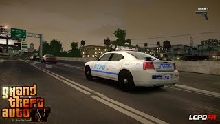 GRAND THEFT AUTO IV - LCPDFR - EPiSODE 24 - (NYPD HIGHWAY PATROL CHARGER) UNTIL SAPDFR/ LSPDFR