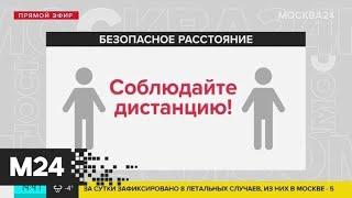 Специалисты назвали безопасное расстояние, чтобы не заразиться коронавирусом - Москва 24