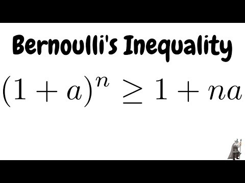 Proof of Bernoulli's Inequality using Mathematical Induction