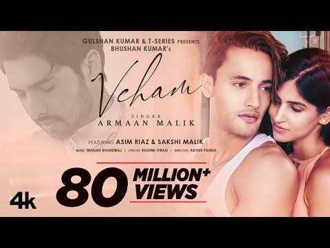 Veham Song: Armaan Malik | Asim Riaz, Sakshi Malik | Manan Bhardwaj | Rashmi Virag | Bhushan Kumar
