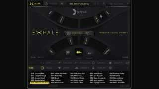 exhale by output   walkthrough