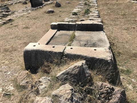 Evidence Of Ancient Machining Technology Present At Hattusa In Turkey