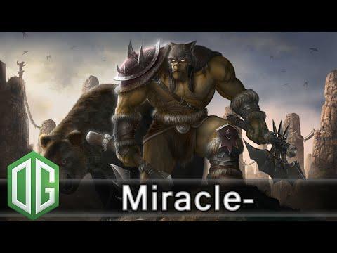 OG.Miracle- Beastmaster Gameplay - Ranked Match - OG Dota 2