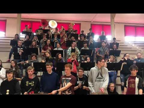 Arthur Lovington Atwood Hammond High School Pep Band