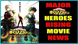 MHA Heroes Rising Movie MAJOR NEWS Villain Reveal, End of Series Elements, and MORE!