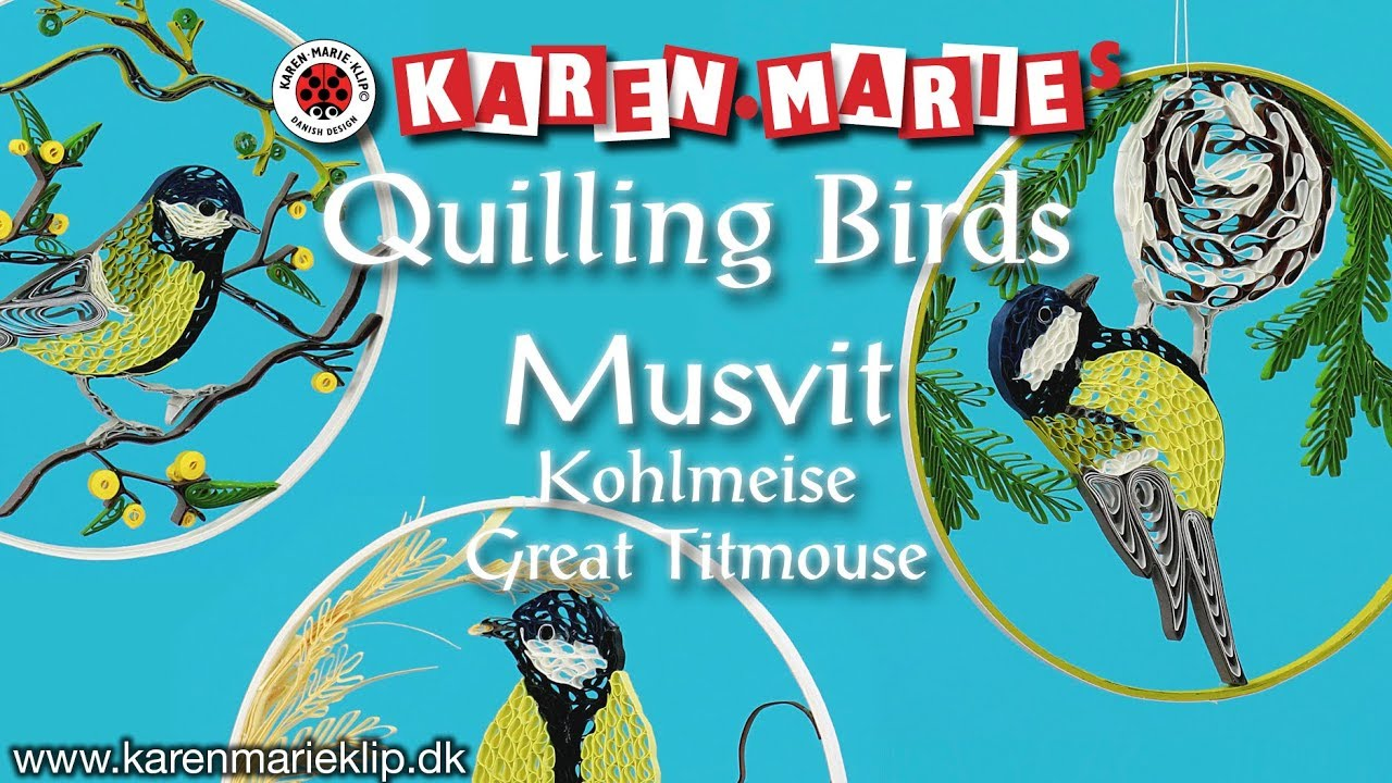 Chicken Quilling Kit Karen Marie Klip