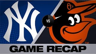 Yanks hit 5 more HRs in win over O's | Yankees-Orioles Game Highlights 8/7/19