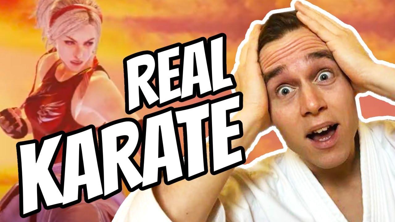 Karate Nerd Reacts To Tekken 7 Character (Lidia Sobieska)