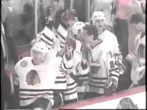Chicago Blackhawks 1990-91 Season Video Part 6