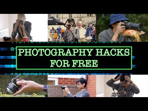 10 Simple Photography Hacks with Household Things