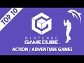Top 10 / Best Nintendo GameCube Action/Adventure Games of All Time! | Dolphin Emulator [1080p HD]
