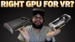 AMD RX 480 BETTER FOR VR THAN NVIDIA 1080? | Tech Shop