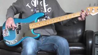 Iron Maiden - Die With Your Boots On Bass cover