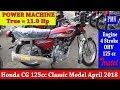 Honda CG  125cc Classic Model April 2018 Impression & Review