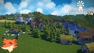 FOUNDATION [FR] Gérer votre village dans cette Sim qui mise sur le développement organique!