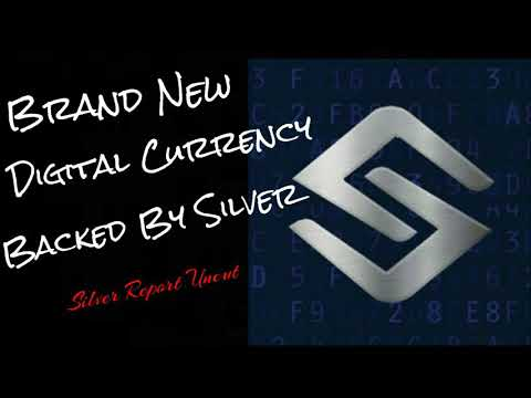 Silver Backed Crypto! SLVR Brand New Crypto Currency Backed By Silver