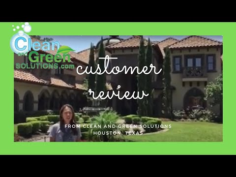 Customer Review Tile Roof Cleaning Houston Texas Clean And