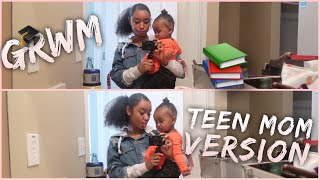 Senior GRWM / Teen Mom Version!