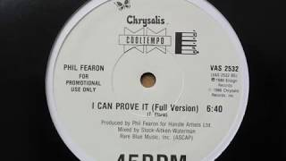 phil fearon - I can prove it (full 12