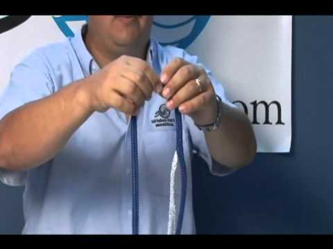 Double Braid Eye Splice With A Splicing Wand Part 1 Youtube