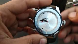 Buy Fastrack Analog Watch for Men Boys Brown Leather Strap NJ3099SL01C - Unboxing (HD)
