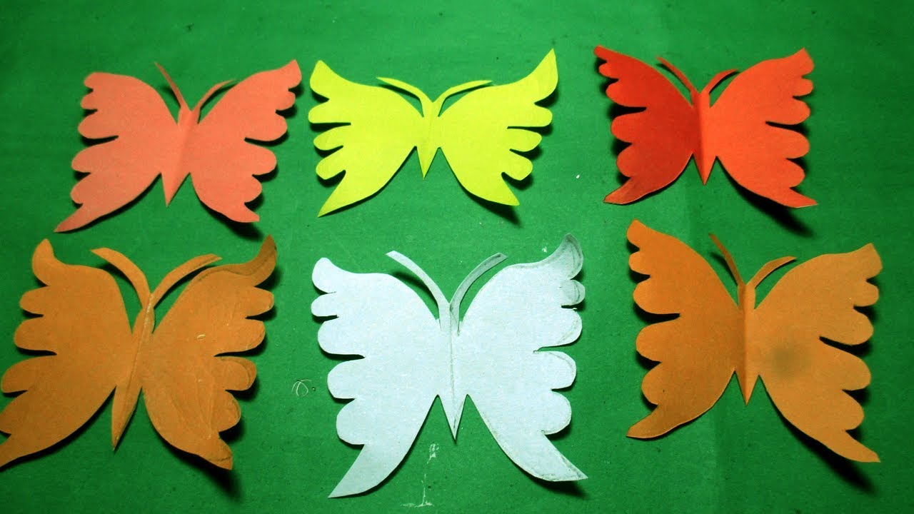 Paper Cutting Design How To Make Paper Cutting Butterfly Diy