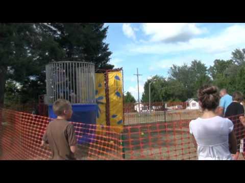 Dunk Tank Fun On A Super Hot Day POV Doovi