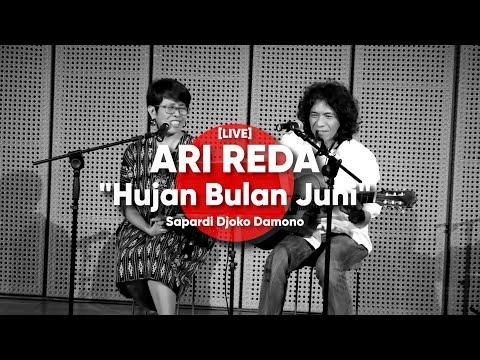 ARI REDA - Hujan Bulan Juni  - Sapardi Djoko Damono [LIVE]