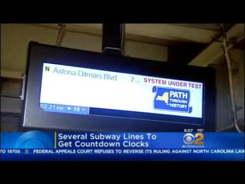 New Subway Digital Screens