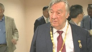 Александр Проханов удостоен премии имени Ким Ир Сена