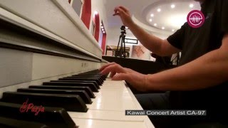 Kawai CA-97 demo - grand piano sounds [Pasja Warszawa]