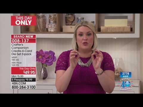 HSN | Crafter's Companion Celebration 07.11.2017 - 09 PM