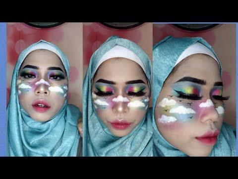 tutorial-singkat-makeup-rainbow-#makeuptutorial-#makeuppemula