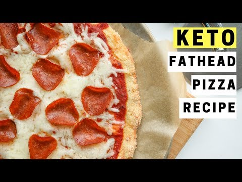 Fathead Pizza Recipe For Keto | How To Make The BEST Low Carb Gluten Free Fat Head Pizza Dough