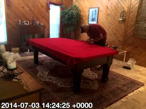 Beautiful Everything Billiards Pool Table Install, Greensboro, NC