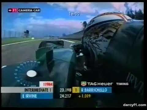 F1 Imola 2002 - Eddie Irvine Onboard