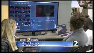 Channel 2 News Coverage on A/V Technology at Lakeside and the Inaugural Dekalb County Film Fest