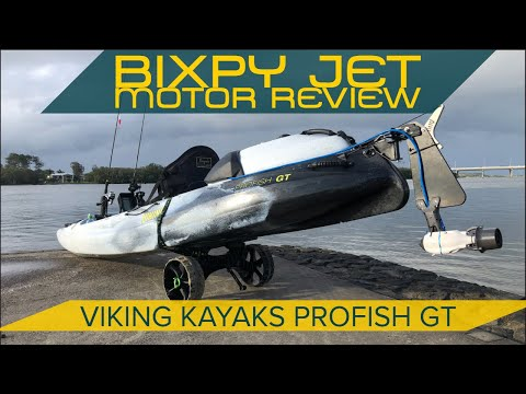 Bixpy Jet Review With Viking Profish GT Fishing Kayak