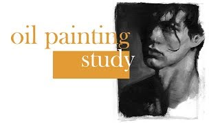 sketchbook studies 05 - oil painting portrait time-lapse (with commentary) | ENIKO
