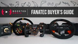 2020 FANATEC Sim Racing Buyer's Guide | CSL, ClubSport, Podium | Wheels, Pedals, & Accessories |